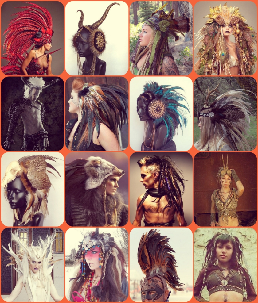 Headdress fashion