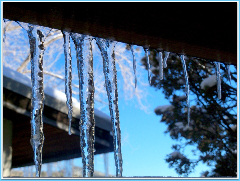 Icicles at Ten-thousand Waves